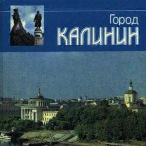 скачать книгу Город Калинин. 1989 год
