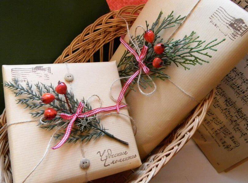 Работа по оформлениям подарков 18