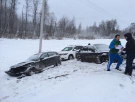 Серьезная авария на трассе М-10