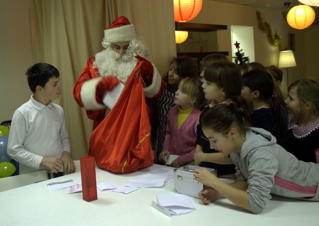 Дети из школ-интернатов в гостях у Тверского Деда Мороза
