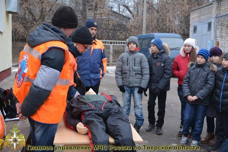 В ГИМС Тверской области прошла экскурсия для детей