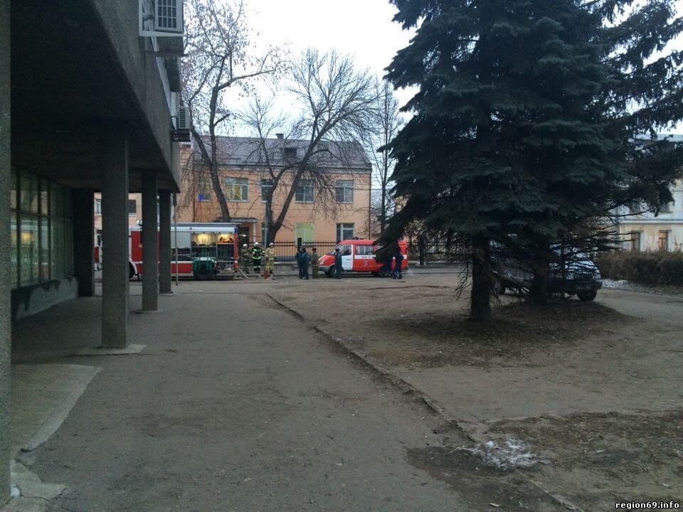 В Твери эвакуировали сотрудников Главпочтамта