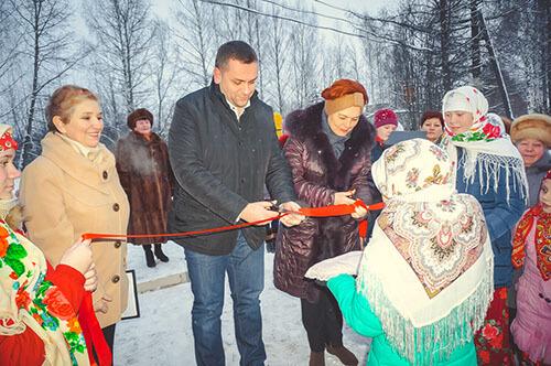 В Максатихинском районе открыли новый детский сад