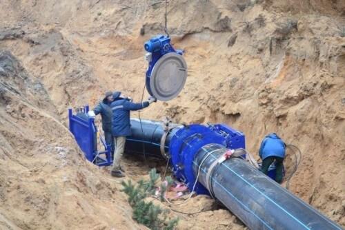 фото В перекладку Медновского водовода вложено более 10 миллионов рублей