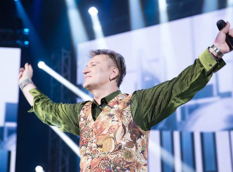 На тверской сцене выступит российский певец Сергей Пенкин