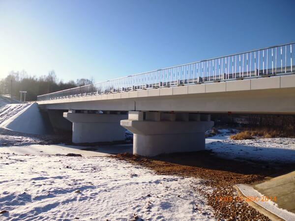 В Тверской области досрочно завершен ремонт моста через реку Рясня