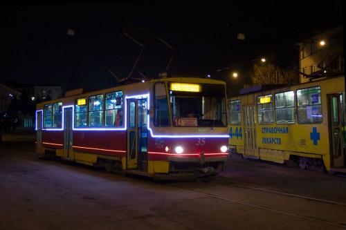 фото В Твери планируют запустить еще один новогодний трамвай