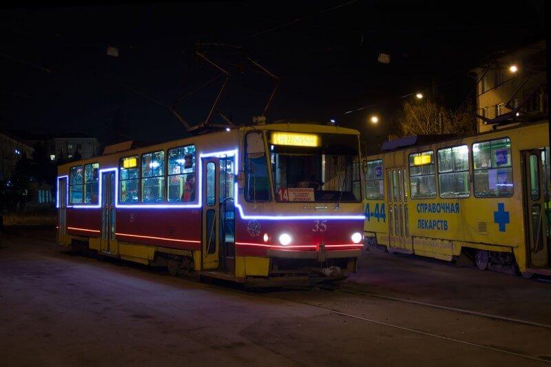 В Твери планируют запустить еще один новогодний трамвай