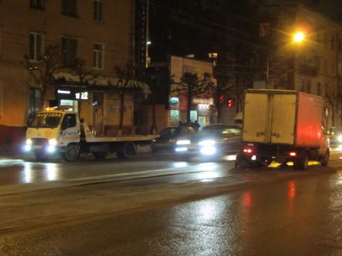 фото В Твери у грузовой Газели отвалились два колеса
