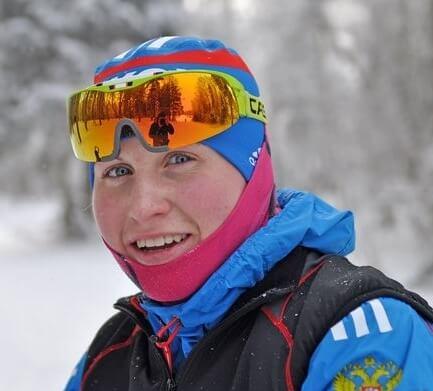 фото Ирина Микешина - бронзовый призер чемпионата ЦФО по лыжным гонкам