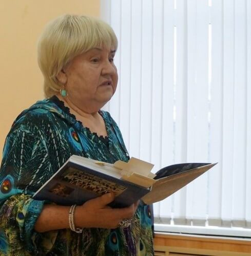 фото Известная писательница Гайда Лагздынь презентует тверским читателям свои новые книги