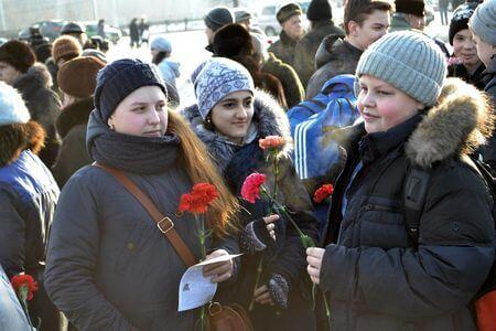 фото В Твери отметили годовщину победы в Сталинградской битве