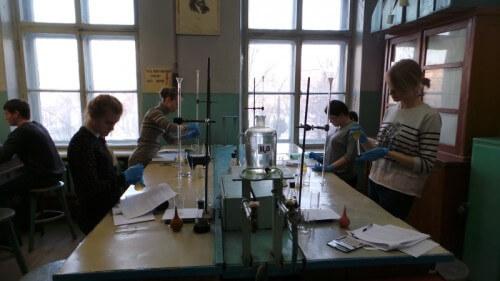 фото Состоялся региональный этап Всероссийской олимпиады школьников по химии