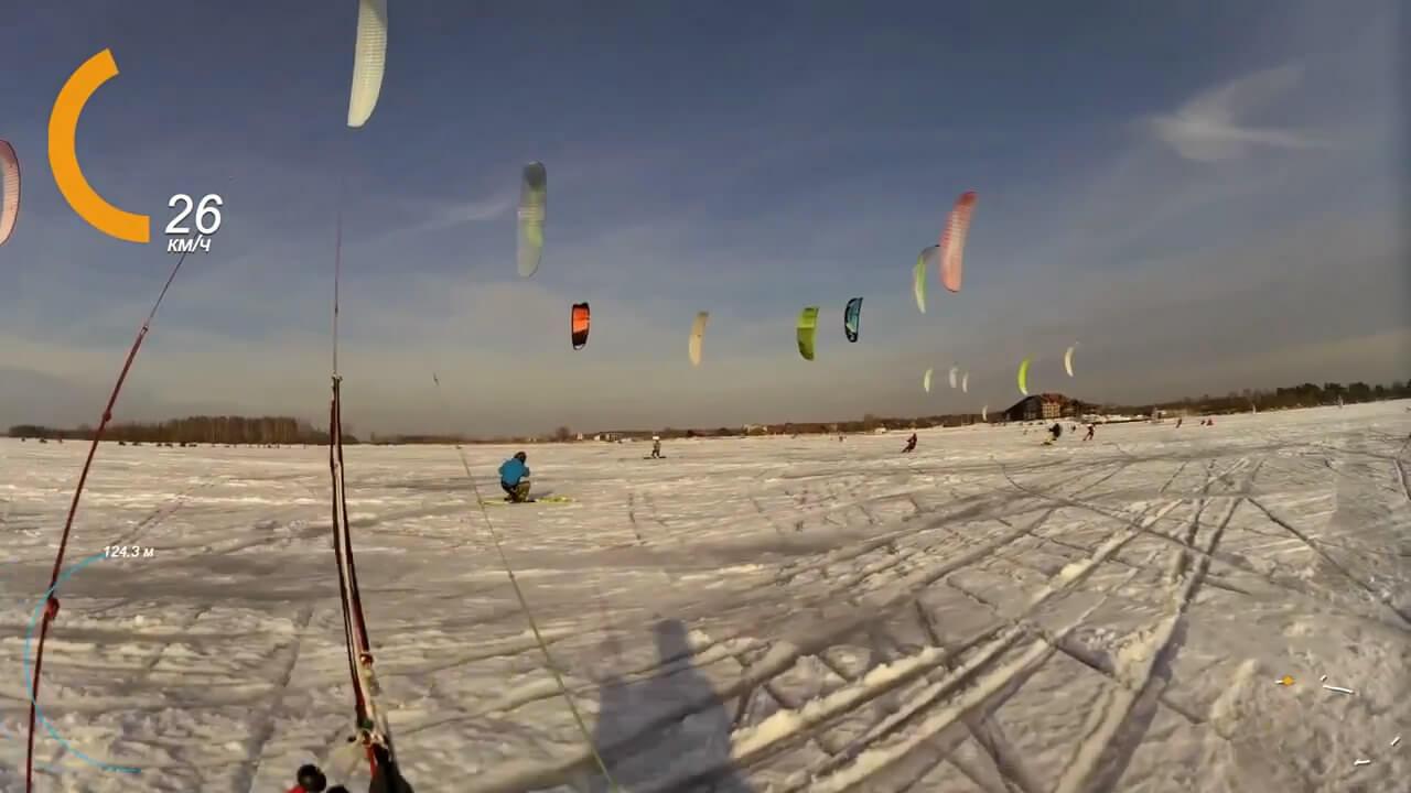 В Тверской области проходит Чемпионат России по зимним видам парусного спорта и Первенство России по зимнему виндсерфингу