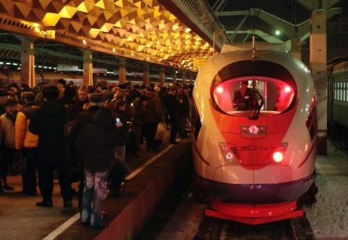 фото Организованные группы пассажиров смогут ездить на Сапсанах со скидкой