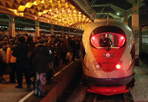 Организованные группы пассажиров смогут ездить на Сапсанах со скидкой