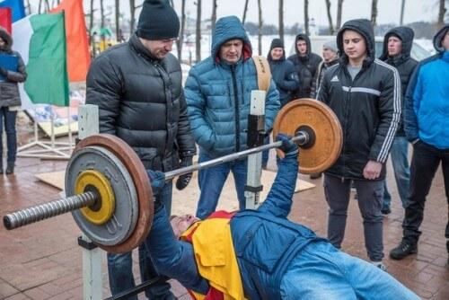 фото В Твери состоялись турниры по русскому жиму и мас-рестлингу
