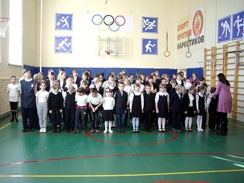фото В Станской школе Лихославльского района открылся обновленный спортзал
