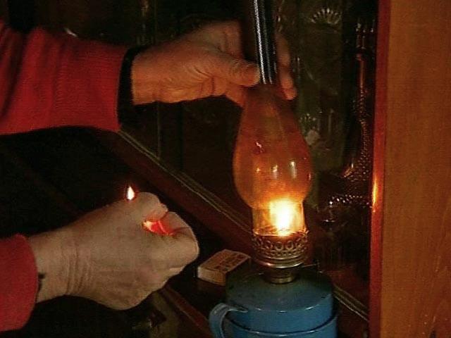 Проблема с отключение электричества в некоторых районах области находится на контроле МЧС