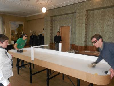 фото В Твери впервые прошли областные соревнования по настольному теннису среди инвалидов по зрению