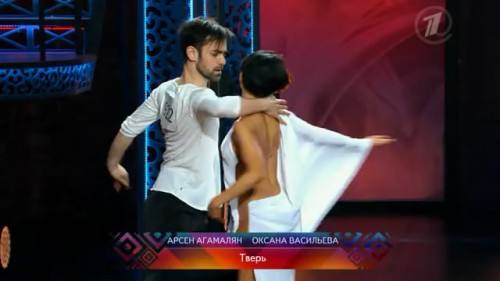 """фото Тверские танцоры показали себя в проекте """"Танцуй"""" на Первом канале"""