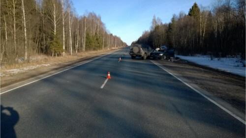 фото В ДТП в Тверской области погиб водитель иномарки