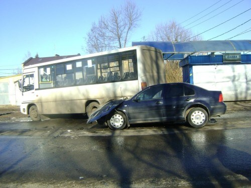 фото В ДТП, спровоцированном водителем без прав, пострадал человек