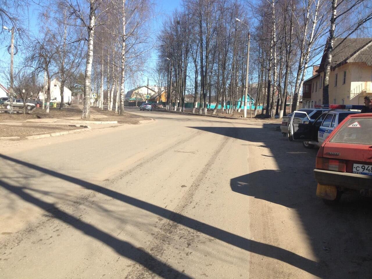 В Нелидово сбили женщину-пешехода, переходившую дорогу в неположенном месте