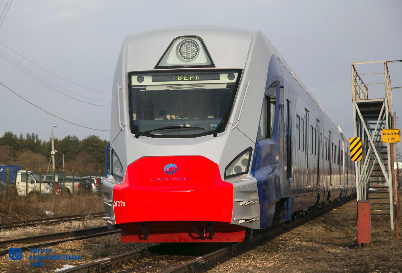 ТВЗ отправил на тестирование свою новую разработку - электропоезд ЭГ2Тв