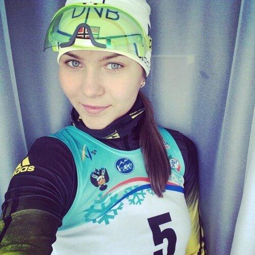 фото Тверская лыжница Северина Ирина – серебряный призер первенства России среди юниоров