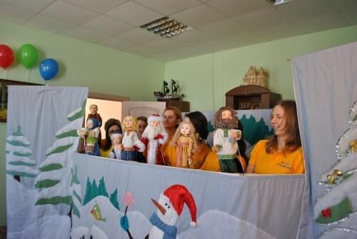 фото Волонтерский кукольный театр выступил в Калязине
