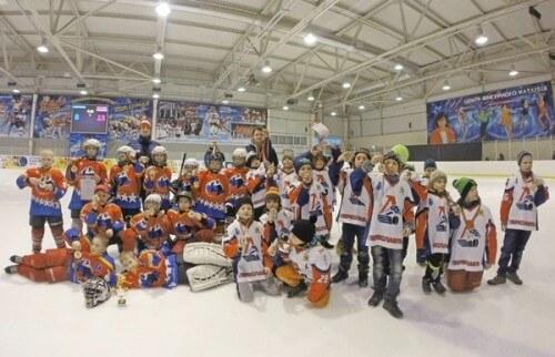 фото В Конаково прошел хоккейный турнир памяти героя Великой Отечественной войны А.А. Баскакова