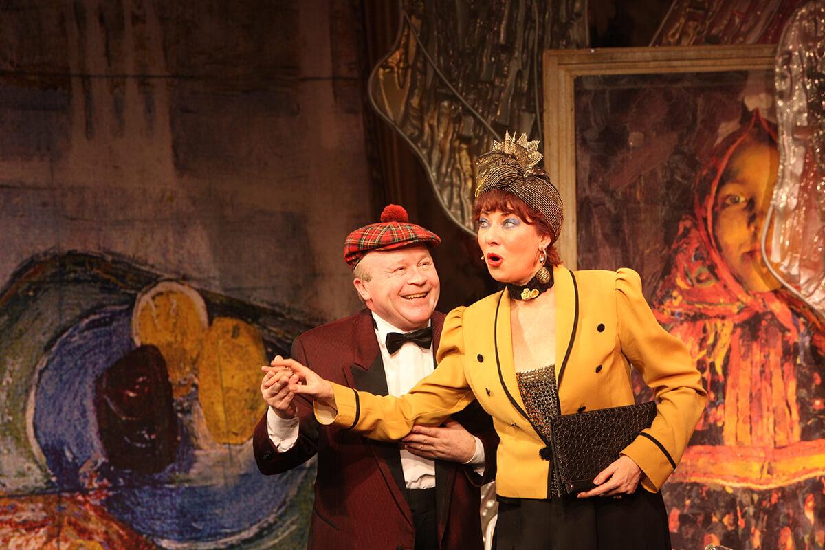 """Театр """"Шалом"""" представит в Твери музыкальную комедию Аркадия Хайта """"Моя кошерная леди"""""""