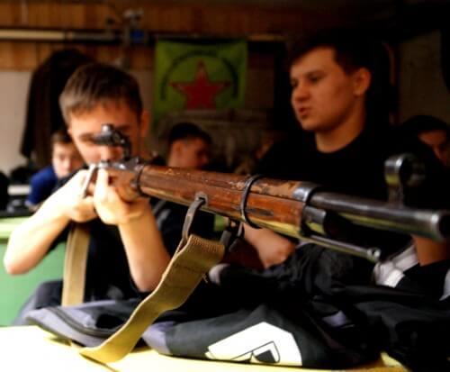 фото В Мокшино прошли прошли районные соревнования по стрельбе из пневматической винтовки