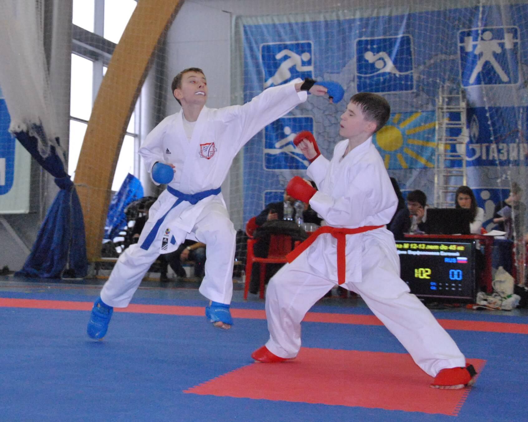 Первенство ЦФО по каратэ среди детей и юношей пройдет в Твери
