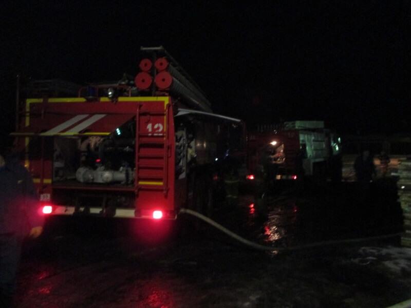 На пожаре в Конаковском районе пострадал человек