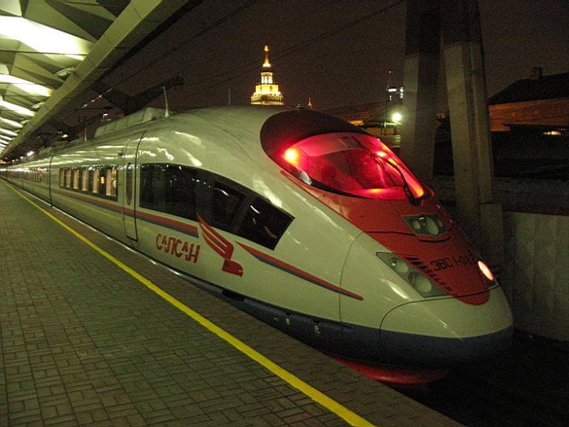 """Пассажиры поездов """"Сапсан"""" сэкономят до 50% стоимости билета при покупке дорожных карт"""