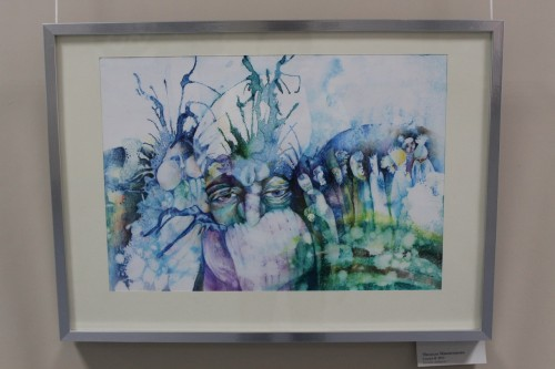"фото В Твери проходит выставка ""YOUNG SLOVAK. ART SHOW"""