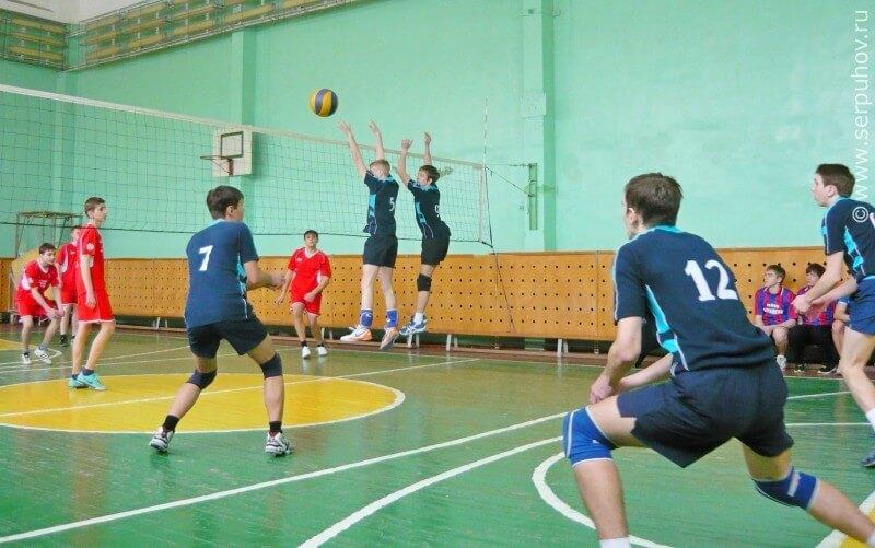 Соревнования по волейболу в рамках Спартакиады обучающихся общеобразовательных учреждений города Твери