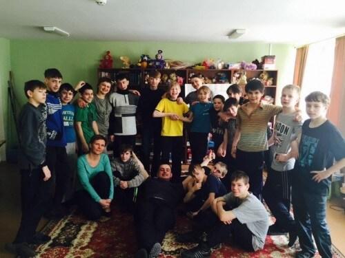 фото Волонтеры посетили Вышневолоцкую школу-интернат