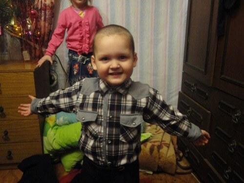 фото Объявлен благотворительный сбор в помощь семье 4-летнего Ярослава из Калязина, больного раком крови