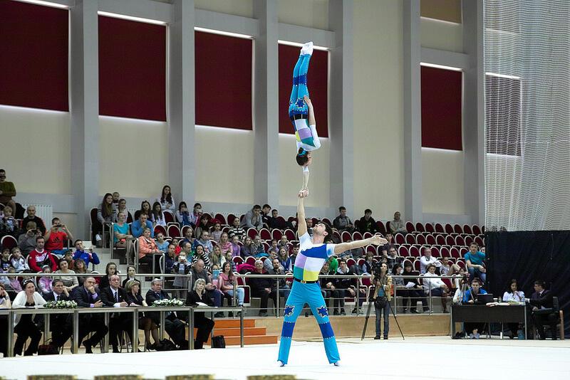 Первенство города Твери по спортивной акробатике