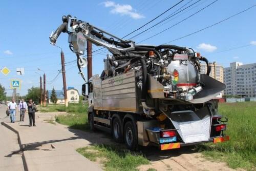 фото ТверьВодоканал планирует приобрести новейшую промывочную машину