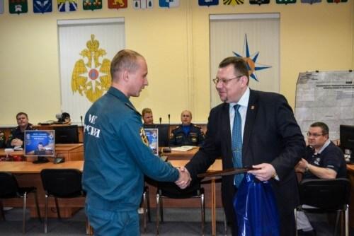 фото В Твери наградили личный состав Тульского спасательного центра