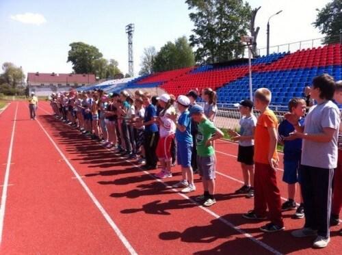 фото Областное Первенство по легкой атлетике среди юношей и девушек 2002-2003 г.р. прошло в Вышнем Волочке