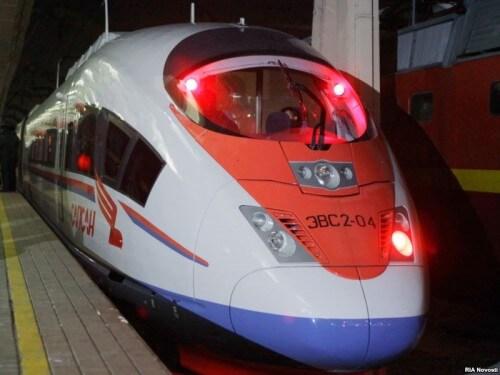 """фото Проезд в высокоскоростных поездах """"Сапсан"""" станет доступнее"""