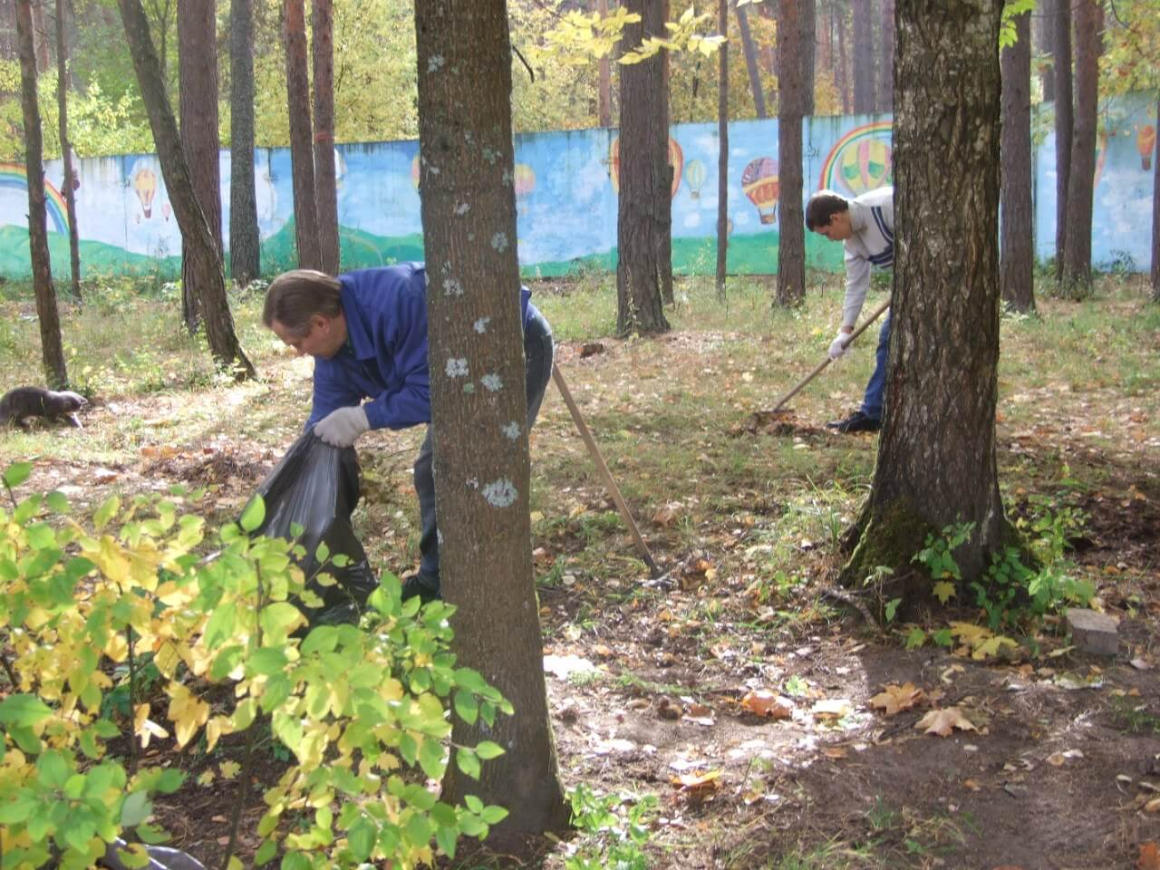 Волонтеры проведут субботник в Тверском доме престарелых