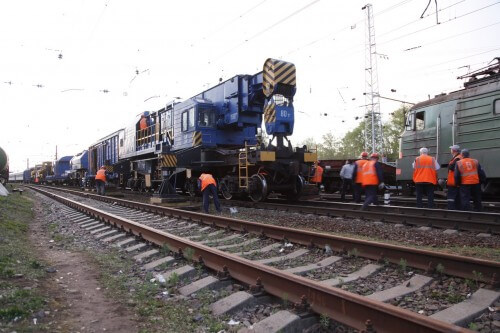 фото Аварийно-восстановительные работы в районе ж/д-вокзала завершены