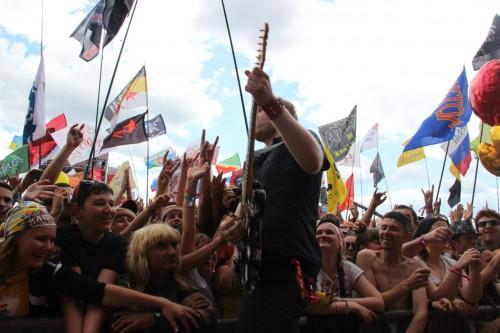 """фото Предварительное расписание выступлений на фестивале """"Нашествие"""""""