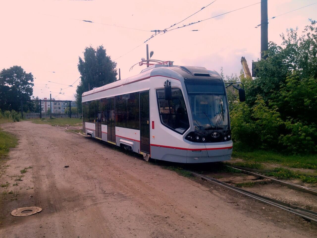 В День города на дорогах Твери появятся 5 новых трамваев City Star